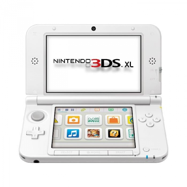 console nintendo 3ds xl blanche 3ds argus jeux vid o d 39 occasion cotation. Black Bedroom Furniture Sets. Home Design Ideas