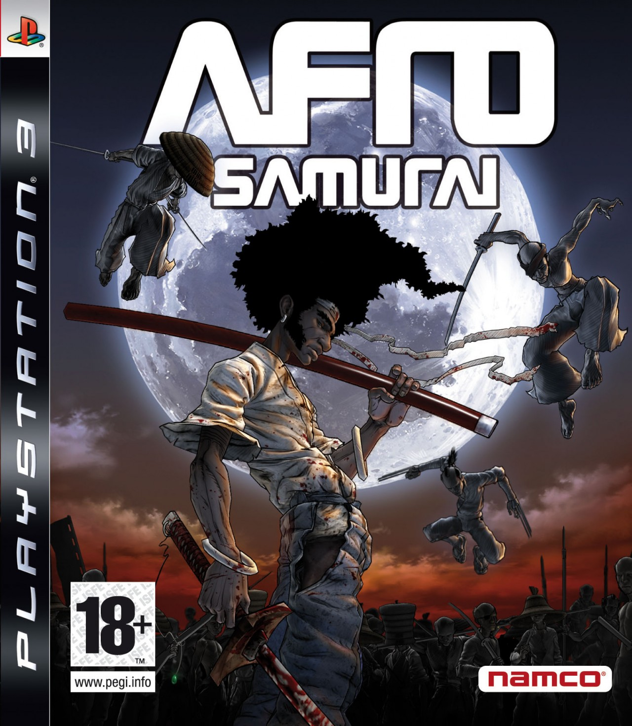 afro samurai ps3 argus jeux vid o d 39 occasion cotation jeux vid o prix et. Black Bedroom Furniture Sets. Home Design Ideas