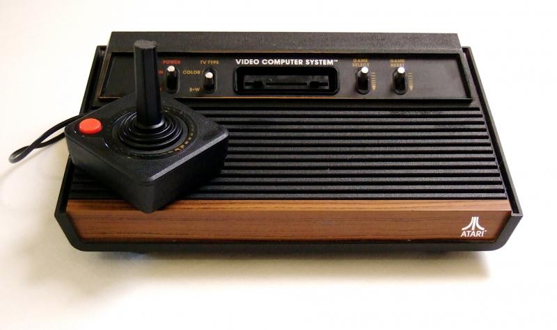 console atari 2600 at26 argus jeux vid o d 39 occasion cotation jeux vid o. Black Bedroom Furniture Sets. Home Design Ideas
