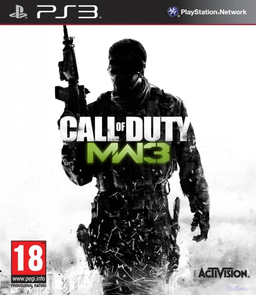 call of duty modern warfare 3 ps3 argus jeux vid o d 39 occasion cotation. Black Bedroom Furniture Sets. Home Design Ideas