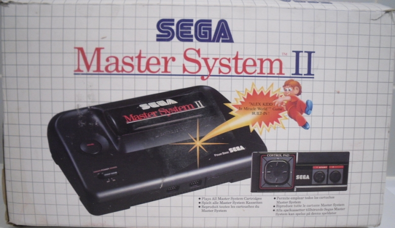 Console master system ii en bo te ms argus jeux vid o d 39 occasion cotation - Console sega master system 2 ...