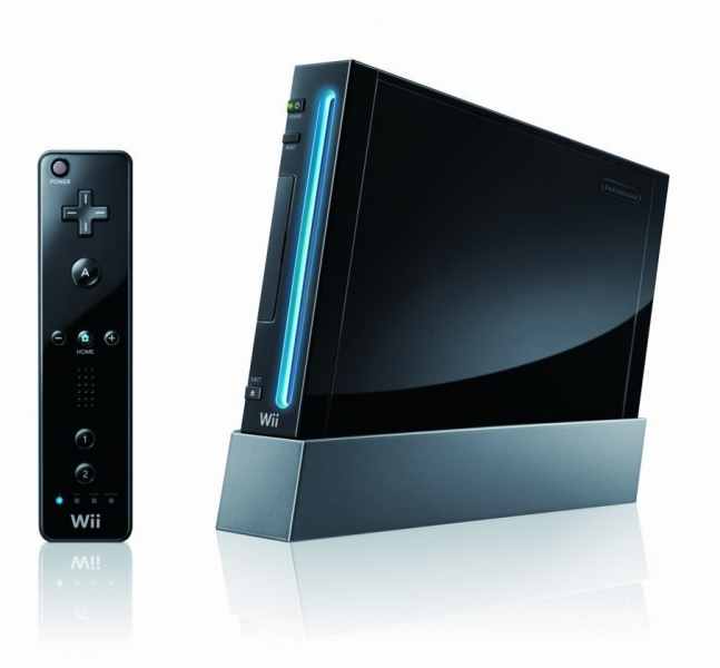 console wii noire wii argus jeux vid o. Black Bedroom Furniture Sets. Home Design Ideas