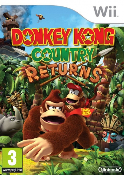 donkey kong country returns wii argus jeux vid o d 39 occasion cotation jeux. Black Bedroom Furniture Sets. Home Design Ideas