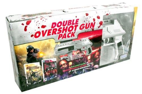 double overshot gun pack house of the dead 2 3 return et ghost squad wii. Black Bedroom Furniture Sets. Home Design Ideas