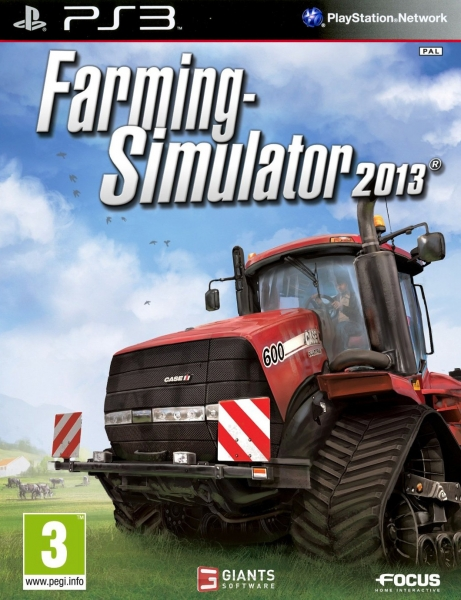 farming simulator 2013 ps3 argus jeux vid o d 39 occasion cotation jeux vid o. Black Bedroom Furniture Sets. Home Design Ideas