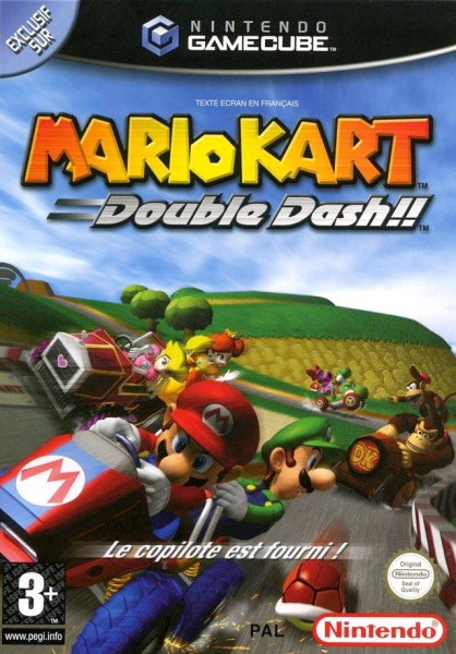 mario kart double dash gc argus jeux vid o d 39 occasion cotation jeux vid o. Black Bedroom Furniture Sets. Home Design Ideas