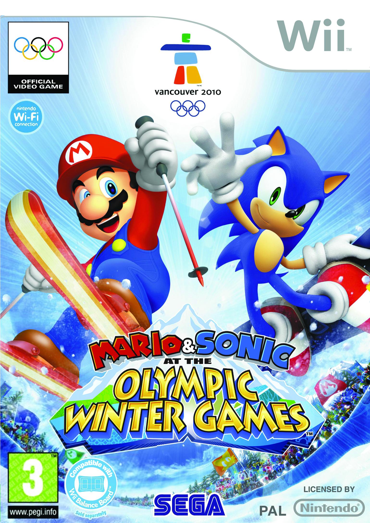 mario sonic aux jeux olympiques d 39 hiver wii argus jeux vid o d 39 occasion. Black Bedroom Furniture Sets. Home Design Ideas