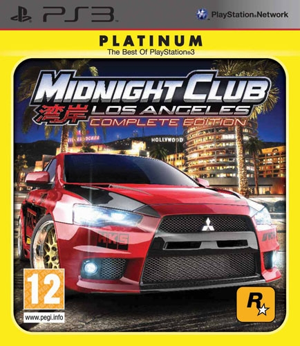 midnight club los angeles complete edition platinum ps3 argus jeux vid o. Black Bedroom Furniture Sets. Home Design Ideas