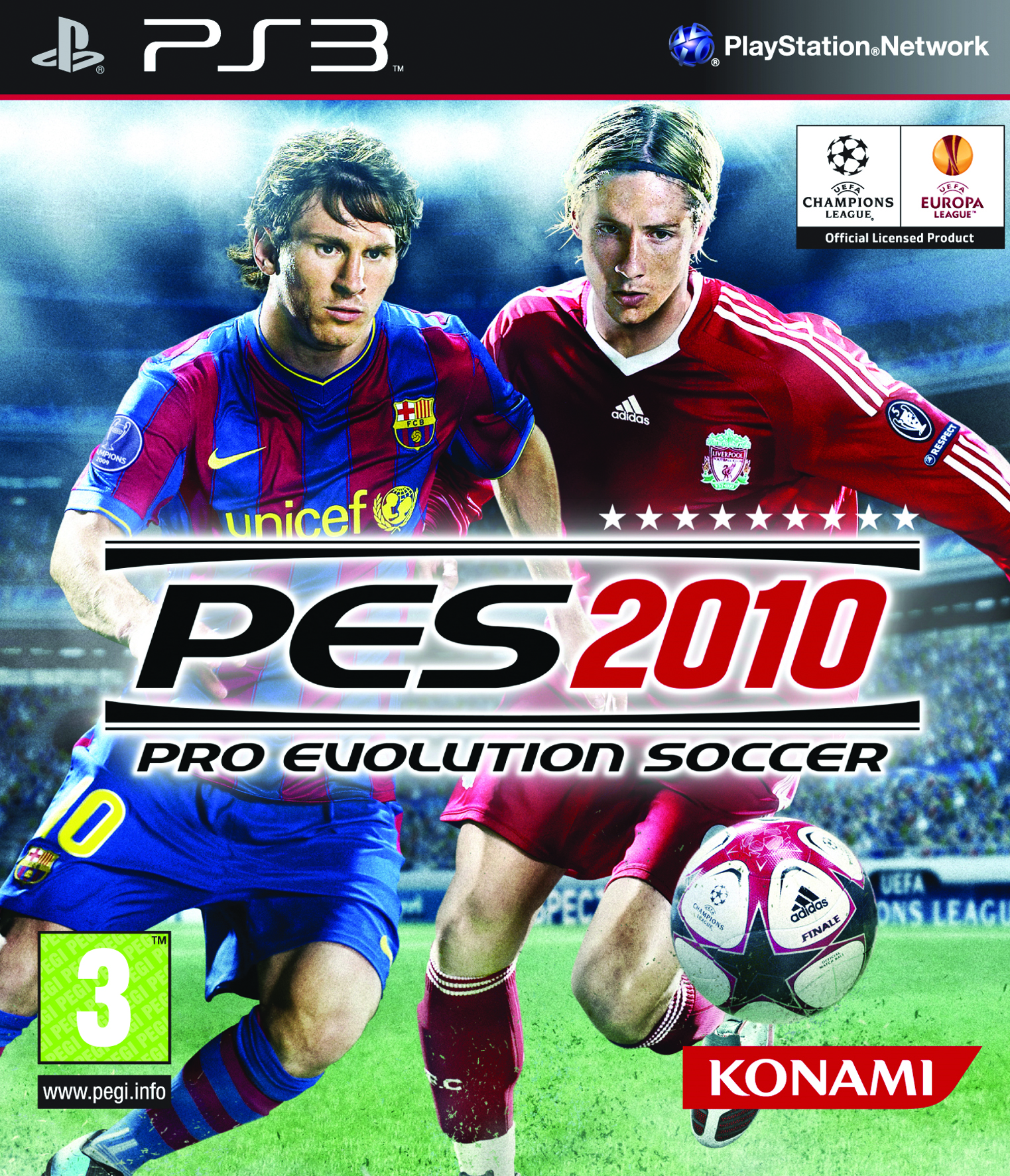 pro evolution soccer 2010 ps3 argus jeux vid o d 39 occasion cotation jeux. Black Bedroom Furniture Sets. Home Design Ideas