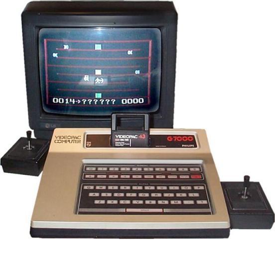 Console philips videopac dr argus jeux vid o d 39 occasion cotation jeux vid o - Ancienne console de jeux ...