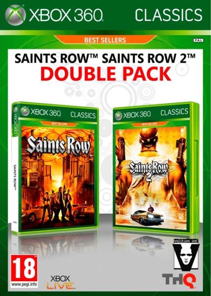 saints row double pack x360 argus jeux vid o d 39 occasion cotation jeux. Black Bedroom Furniture Sets. Home Design Ideas