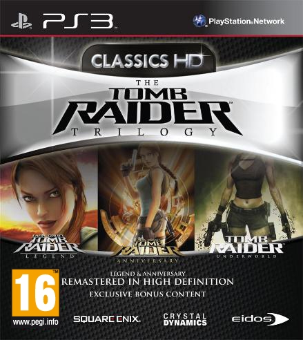tomb raider trilogy classics hd ps3 argus jeux vid o d 39 occasion cotation. Black Bedroom Furniture Sets. Home Design Ideas