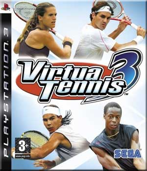virtua tennis 3 ps3 argus jeux vid o d 39 occasion cotation jeux vid o prix et. Black Bedroom Furniture Sets. Home Design Ideas